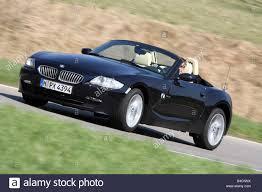 Sport Series 2006 bmw z4 : BMW Z4 3.0 si Roadster, model year 2006-, black, driving, diagonal ...