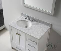 modern white bathroom cabinets. Attractive Bathroom Vanities With Tops White And Grey Granite Also Wooden Panel 3 Drwers Double Doors As Storage Well Frames Modern Cabinets N