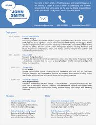 Charming Modern Resume Examples Superb Example Of A Modern Resume