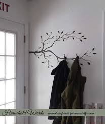 branch wall decor beautiful tree branch decor vinyl wall decal diy coat rack decal nature decals