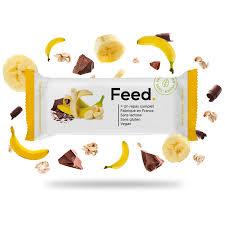 Barre repas saveur Banane/ Chocolat - Feed.