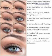 victoria s secret inspired eye makeup tutorial from ska pl