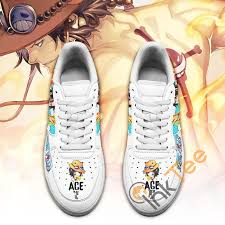 About 0% of these are men's sports shoes, 0% are men's casual shoes. Ace Custom One Piece Anime Fan Amazon Nike Air Force Shoes