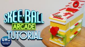 how to build a mini lego skeeball machine