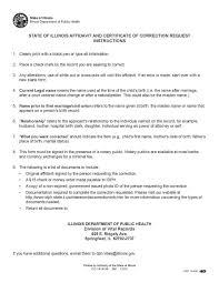 Affidavitcertcorrection Page Affidavit Of Heirship Alaska Free
