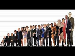 President Height Chart Celebrity Height Comparison Chart 10k Subscribers Special