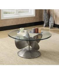 Round glass top Beveled Glass Coaster Furniture Round Glass Top Coffee Table Gray Mywedding New Savings On Coaster Furniture Round Glass Top Coffee Table Gray