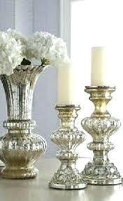 mercury glass pillar candle holders glass candlesticks mercury glass silver mercury glass pillar candle holders mercury