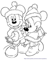 Small Picture Coloring Pages Printable Mickey Mouse Christmas Coloring Pages