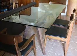 modern glass dining table ked vintage accessories argos bar white wood bench square for diy with