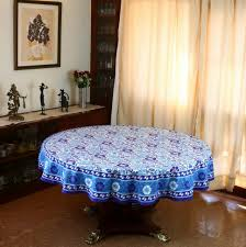 Round Kitchen Table Cloth Piper Classics Country Kitchen Tablecloths In Round Accent