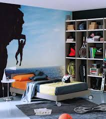 Male Teenage Bedroom Awesome White Grey Wood Glass Unique Design Boys Bedroom Ideas Boy
