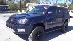 2005 TOYOTA 4RUNNER V8 4X4 FOR SALE!! LEISURE USED CARS 850-265 ...