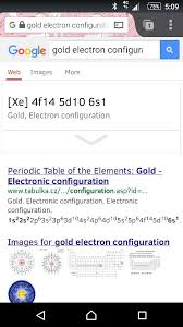 What is the noble gas electron configuration for gold? - Quora