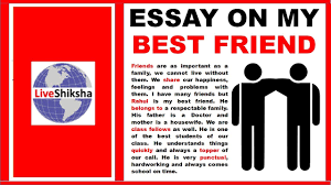 Descriptive Essay On My Best Friend Example Descriptive Essay My Best Friend Examples Sample