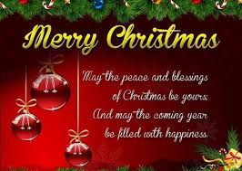 blessings merry christmas for families quotes