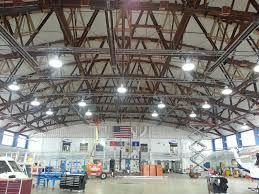 Warehouse Led Light Fixtures Hangar Lighting Hangar Lights Led Lights Replace Hid In