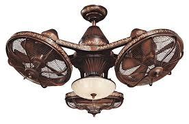 Industrial style ceiling fans Vintage industrial lighting
