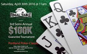 Round Table 122nd 13 April 2016 Mutant Poker