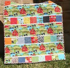 82 best Farm Quilt images on Pinterest | Farms, Chicken and Colors & Quick Quilt Pattern PDF File Moda Charm Pack by SunnysideFabrics Adamdwight.com