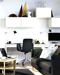 gallery small home office white. Small Home Office Ideas View In Gallery Design  Decor With Black Chair White