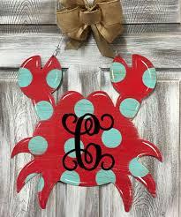 110 best summer door hangers images on wood crafts burlap hanger