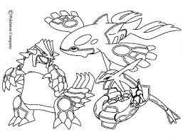 Small Picture Primal Kyogre Drawing Groudon Raykaza And Kyogre Coloring Pages