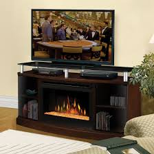 image of electric fireplace tv stand costco