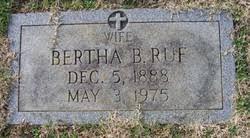 Bertha Barksdale Ruf (1888-1975) - Find A Grave Memorial