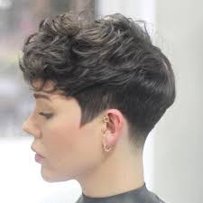 Fashion Long Pixie Cut For Thick Hair Interesting Hairstyles Long