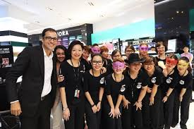 sephora dazzles with first penang
