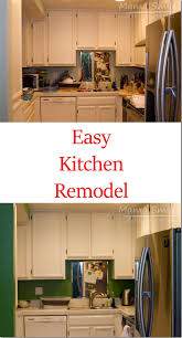 Easy Kitchen Diy Kitchen Remodel Add Color Mama Smiles
