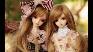 cute doll wallpaper