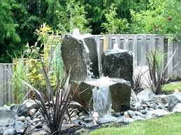 rock garden fountains garden water feature ideas rock garden designs with water feature best rock fountain