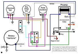 skylark info note only the colors of the wires directly connected to the preamp are accurate the others i substituted to help differentiate