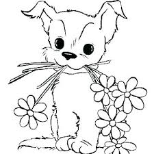 Printable Puppy Coloring Pages Free Printable Puppy Coloring Pages G