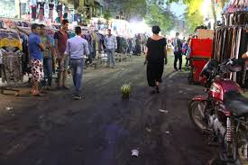 towards a spatial imaginary ibraaz heba amin walking the watermelon in cairo public performance
