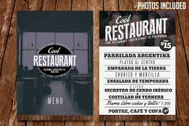 Restaurant Menu Template Restaurant Menu Template Psd Graphicfy