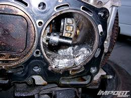 the truth behind the subaru ej series engines tech knowledge impp 1103 05 o subaru ej series broken piston
