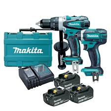 power tools for sale. makita dlx2145x1 18v 2 piece cordless combo kit power tools for sale