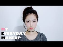 eng my everyday makeup tutorial korean daily makeup 데일리메이크업 you