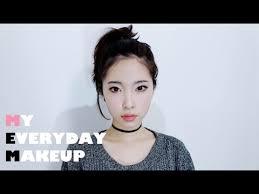 eng my everyday makeup tutorial korean daily makeup 데일리메이크업 you