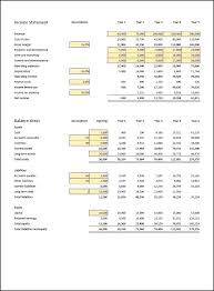 financial projections template annual projection template