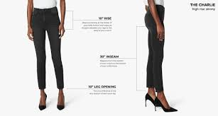 Articles Of Society Jeans Size Chart Womens Denim Size Chart And Fit Guide Joes Jeans