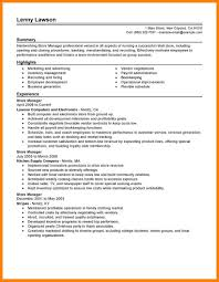 Retail Sales Manager Resume Samples Fire Protection Specialist