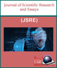 journal of scientific research and essays index pearl research journal of scientific research and essays