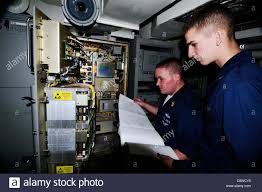 Electronics Systems Maintenance Technician Stock Photos