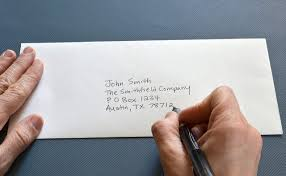 how to address a letter with a po box how to address a letter to a po box the best letter