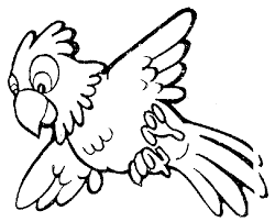 Parrot Clipart Black And White Clipart Panda Free Clipart Images