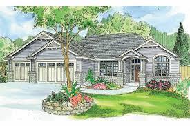 ranch house plan windsor 30 678 front elevation